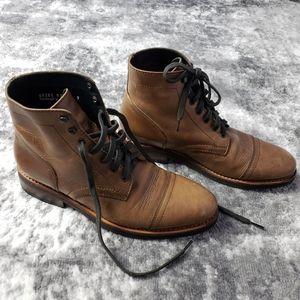 Thursday Boot Co. Captain Lace Up Natural